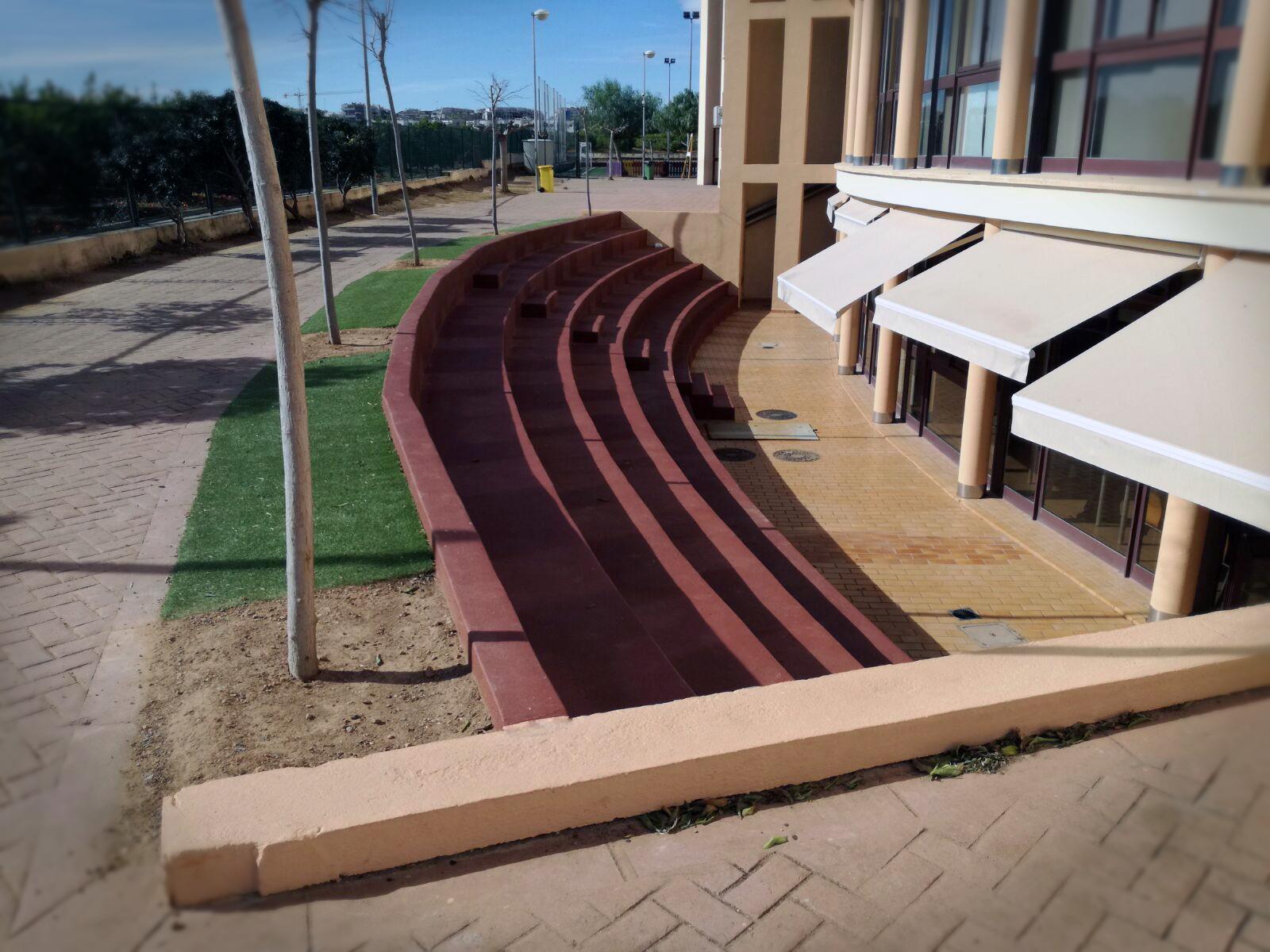 construcciones y reformas castellón gyt G&T gradas colegio lledó construcción (4)