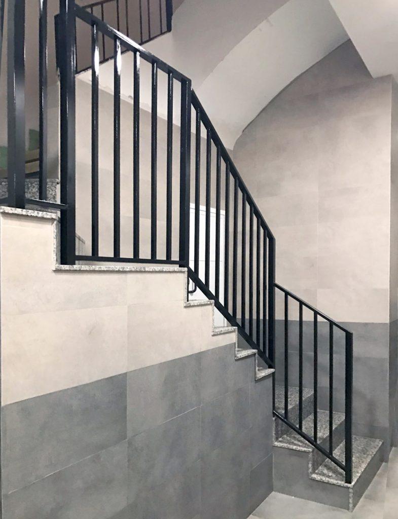 portal cota 0 montornes obra reformas accesibilidad comunidades castellón gyt escaleras